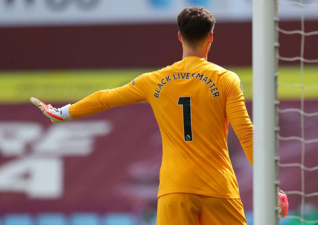 Lampard Is Considering 3 Alternatives To Kepa Arrizabalaga - Kepa in action