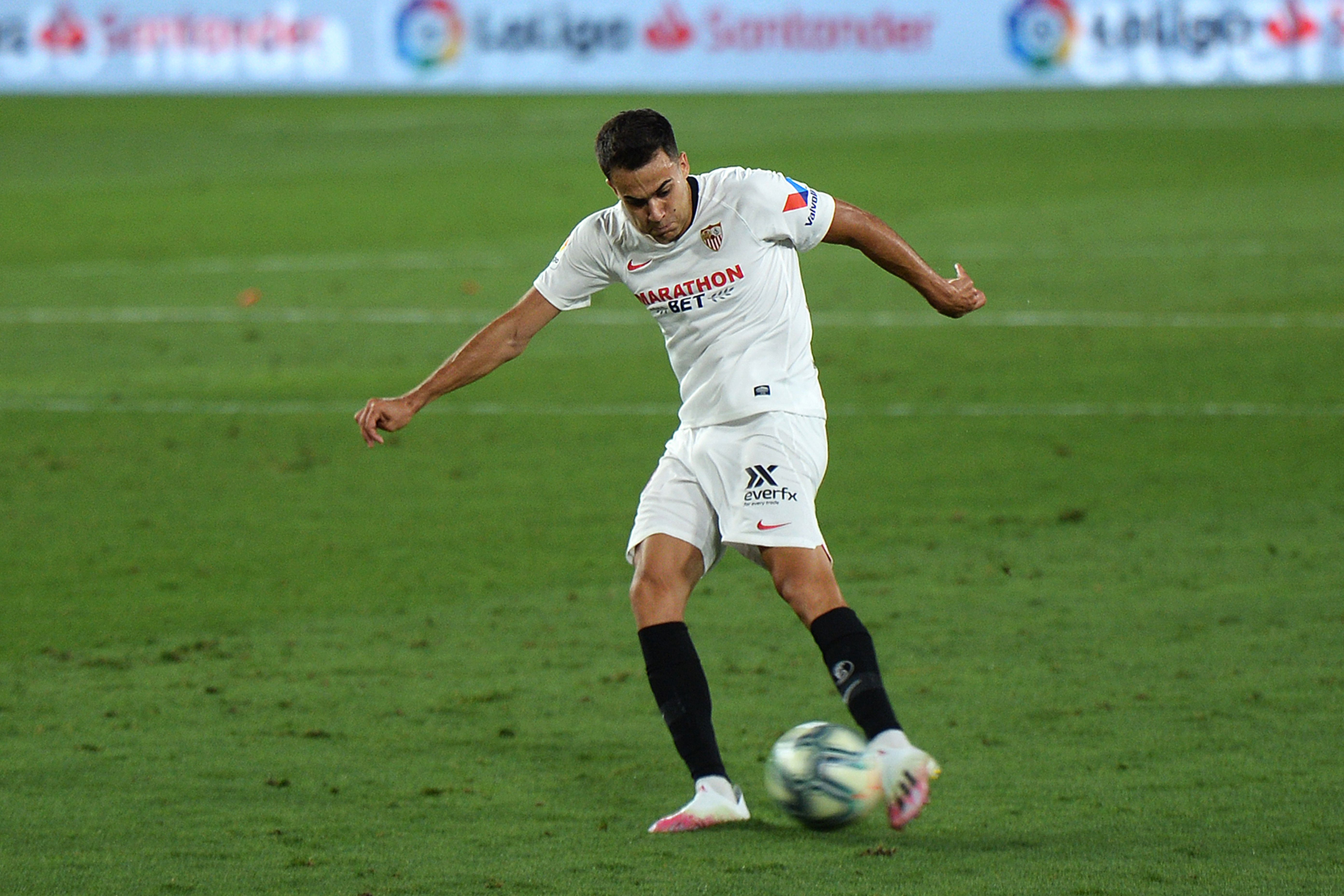 Chelsea Are Interested In Real Madrid's Sergio Reguilon - Reguilon in action