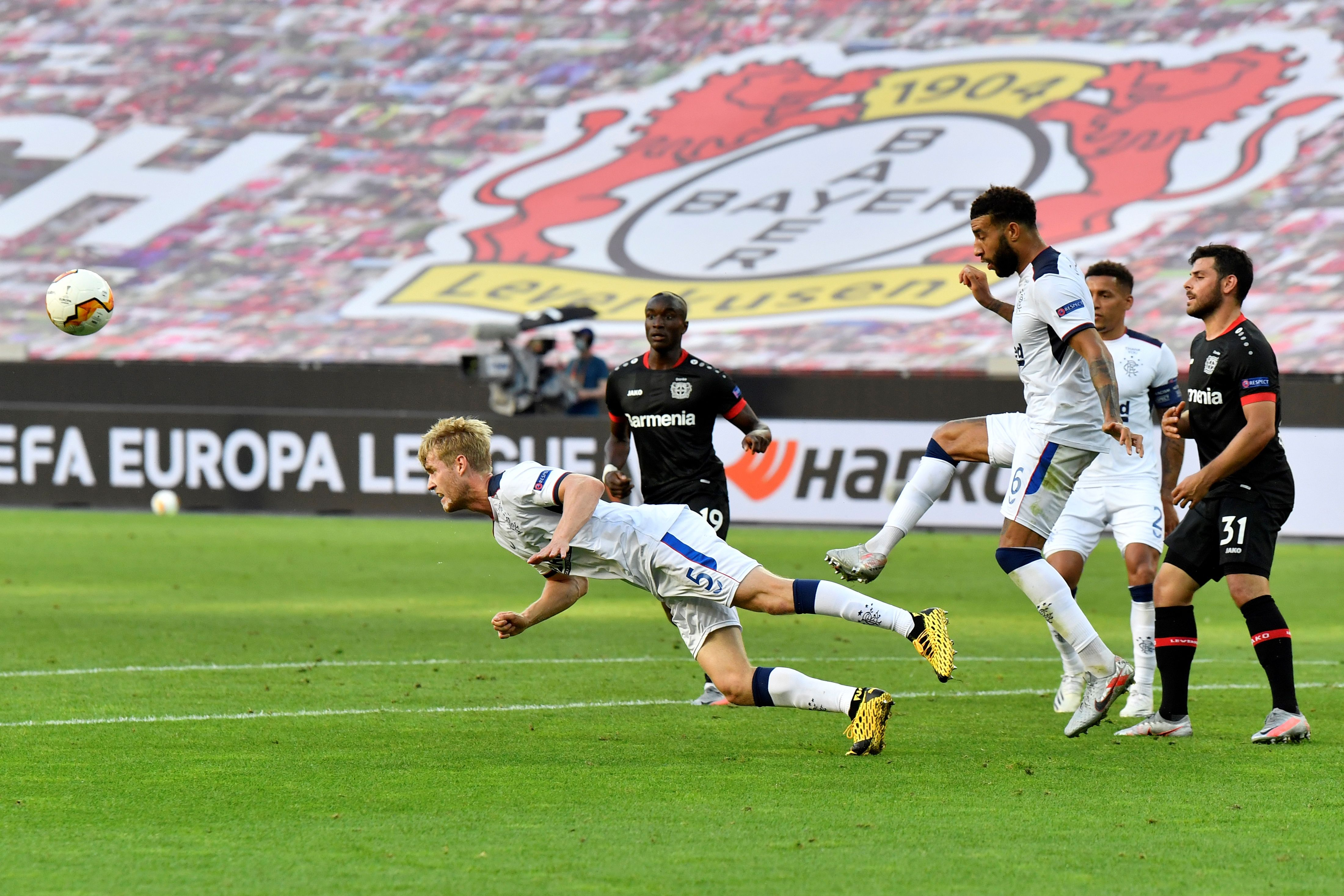 Rangers Player Ratings Vs Bayer Leverkusen - Helander wins a header