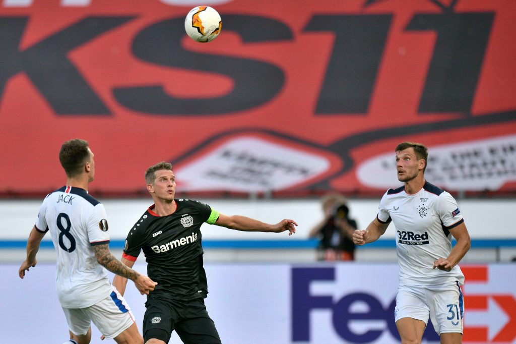 Rangers Player Ratings Vs Bayer Leverkusen - Barisic and Jack look in action