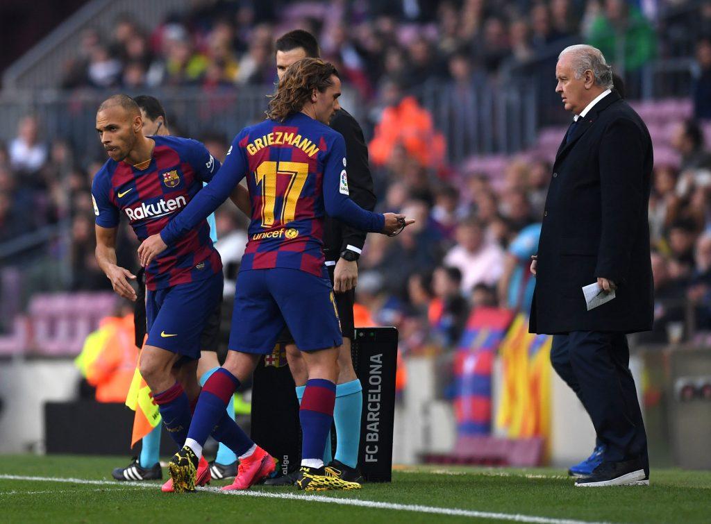 Martin Braithwaite is destined for a Premier League move - He has failed to make a mark at Barcelona.
