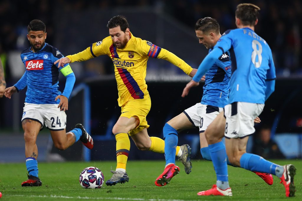 Barcelona Vs Napoli Tactical Preview And Predicted Lineups