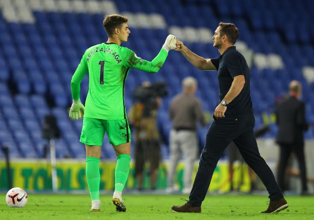 Three Takeaways From Chelsea's 3-1 Win Over Brighton - Kepa greets Lampard
