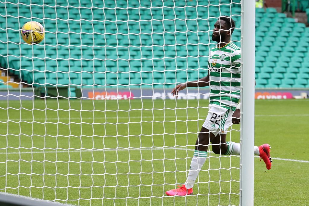 Leicester City identify Odsonne Edouard as Slimani replacement (Edouard is in action in the picture)
