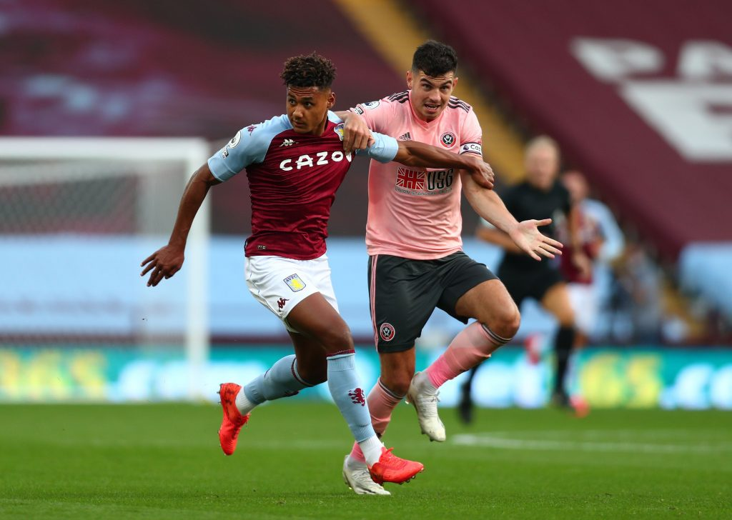 Renowned reporter full of praise for Aston Villa's Ollie Watkins who is in action in the picture