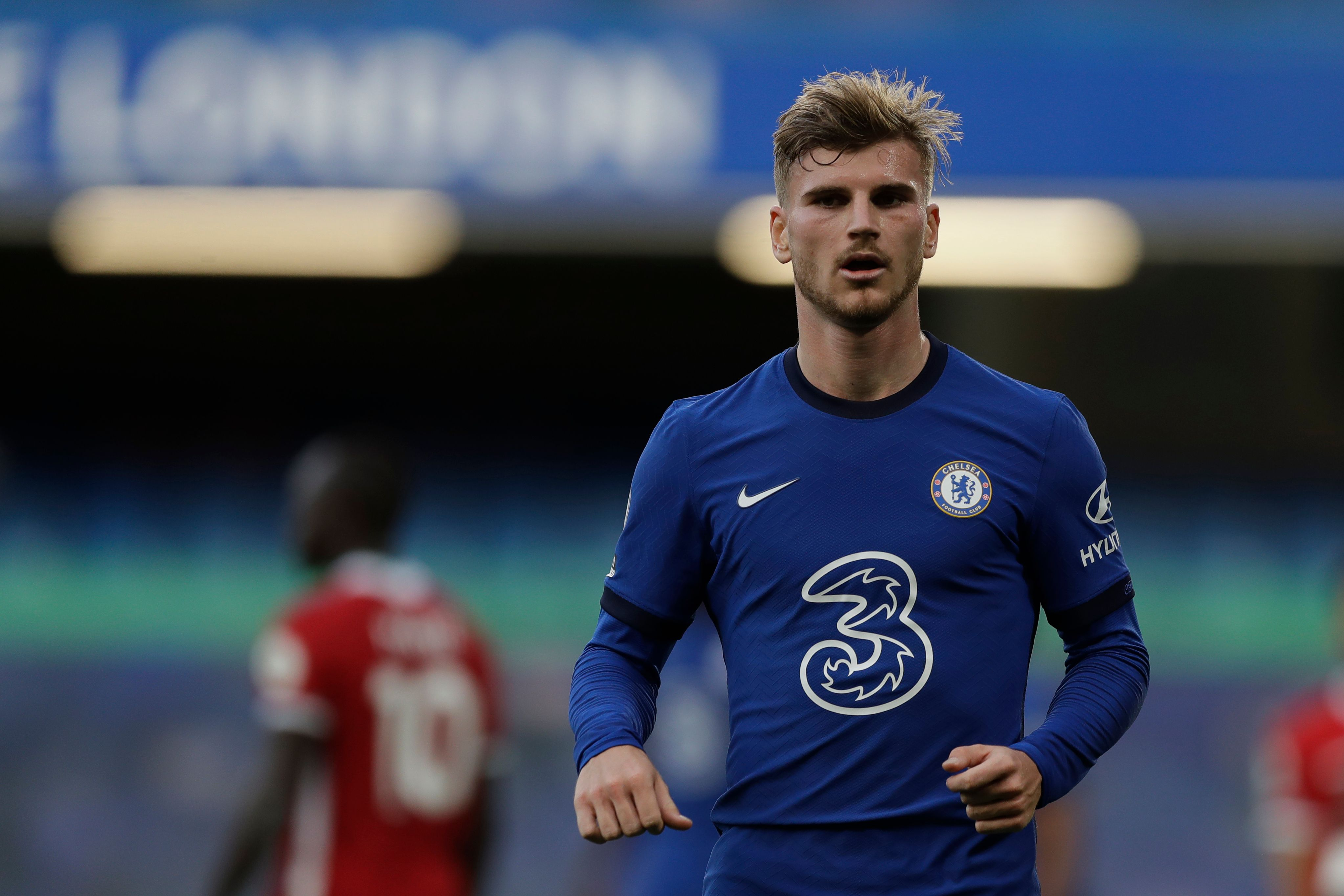 Chelsea Player Ratings Vs Liverpool - Werner looks on