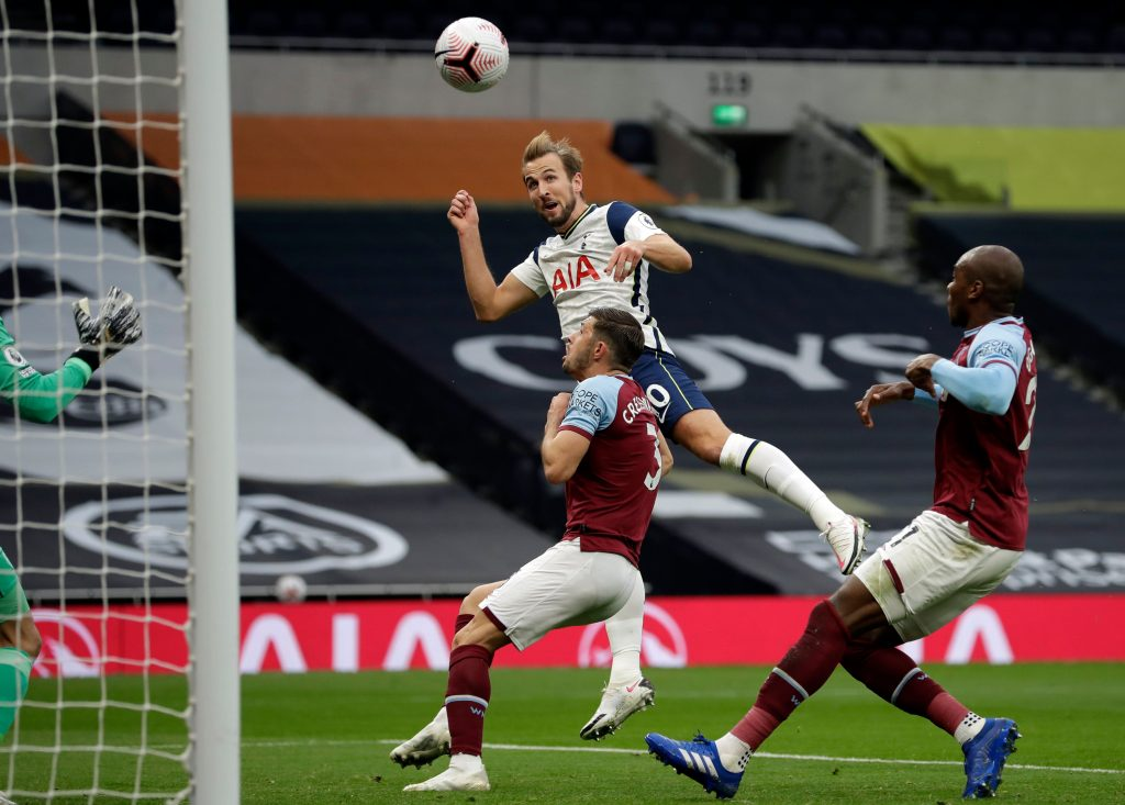 West Ham United Players Rated In Draw Vs Tottenham (West Ham players are seen defending in the picture)