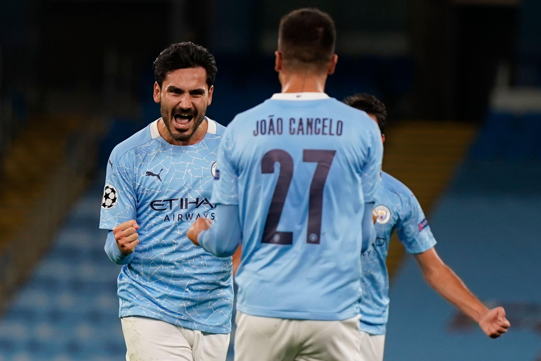 Manchester City Player Ratings Vs Porto - Gundogan celebrates
