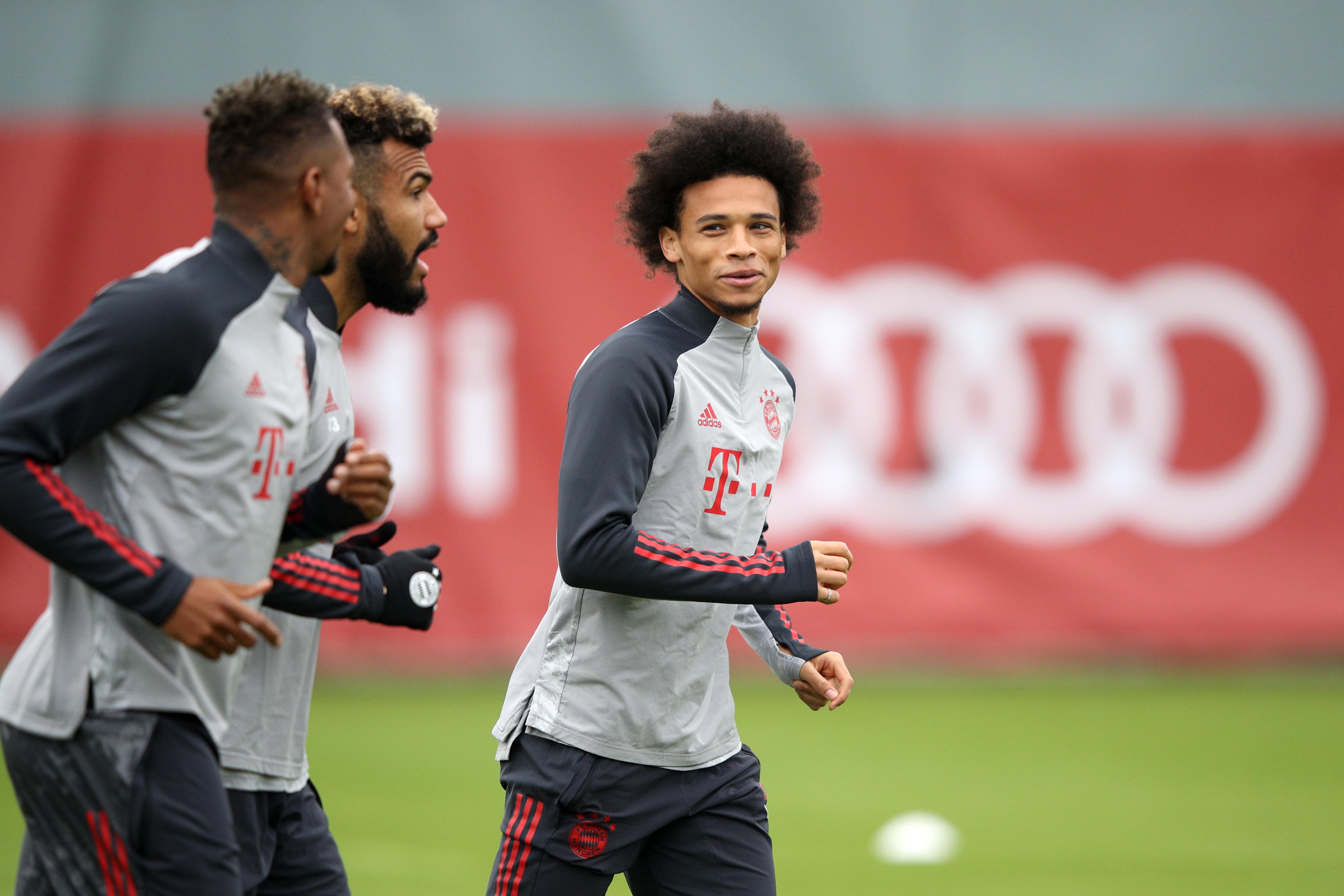 Predicted Bayern Munich Vs Atletico Madrid - Sane set to start.