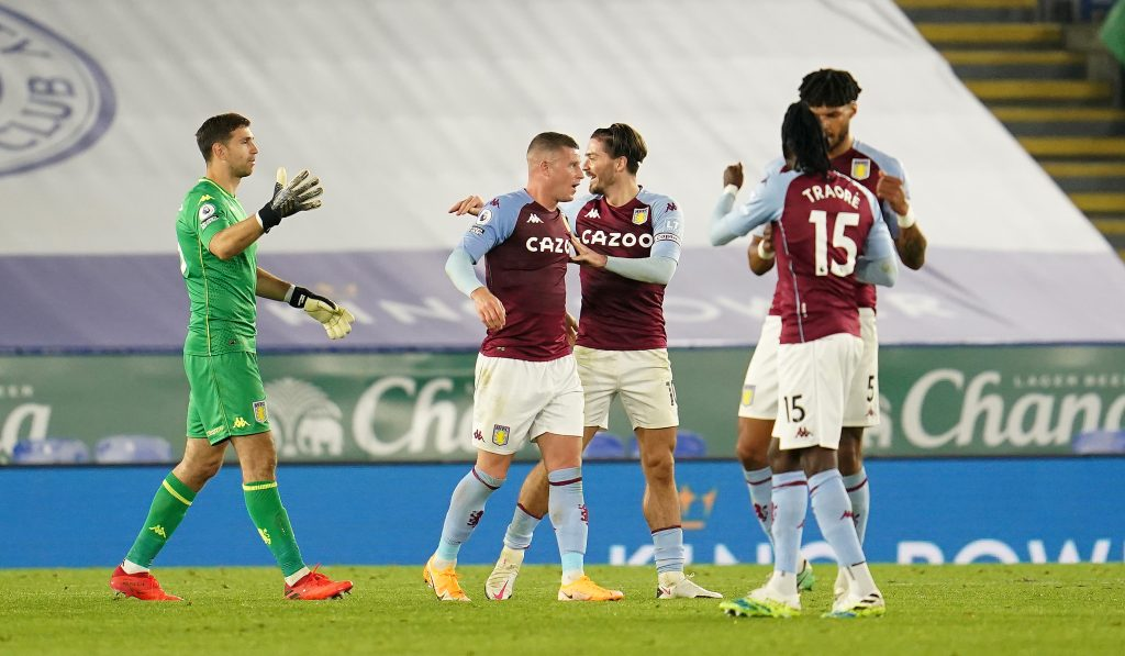 Aston Villa Players Rated In Hard-Fought Win Vs Leicester ...