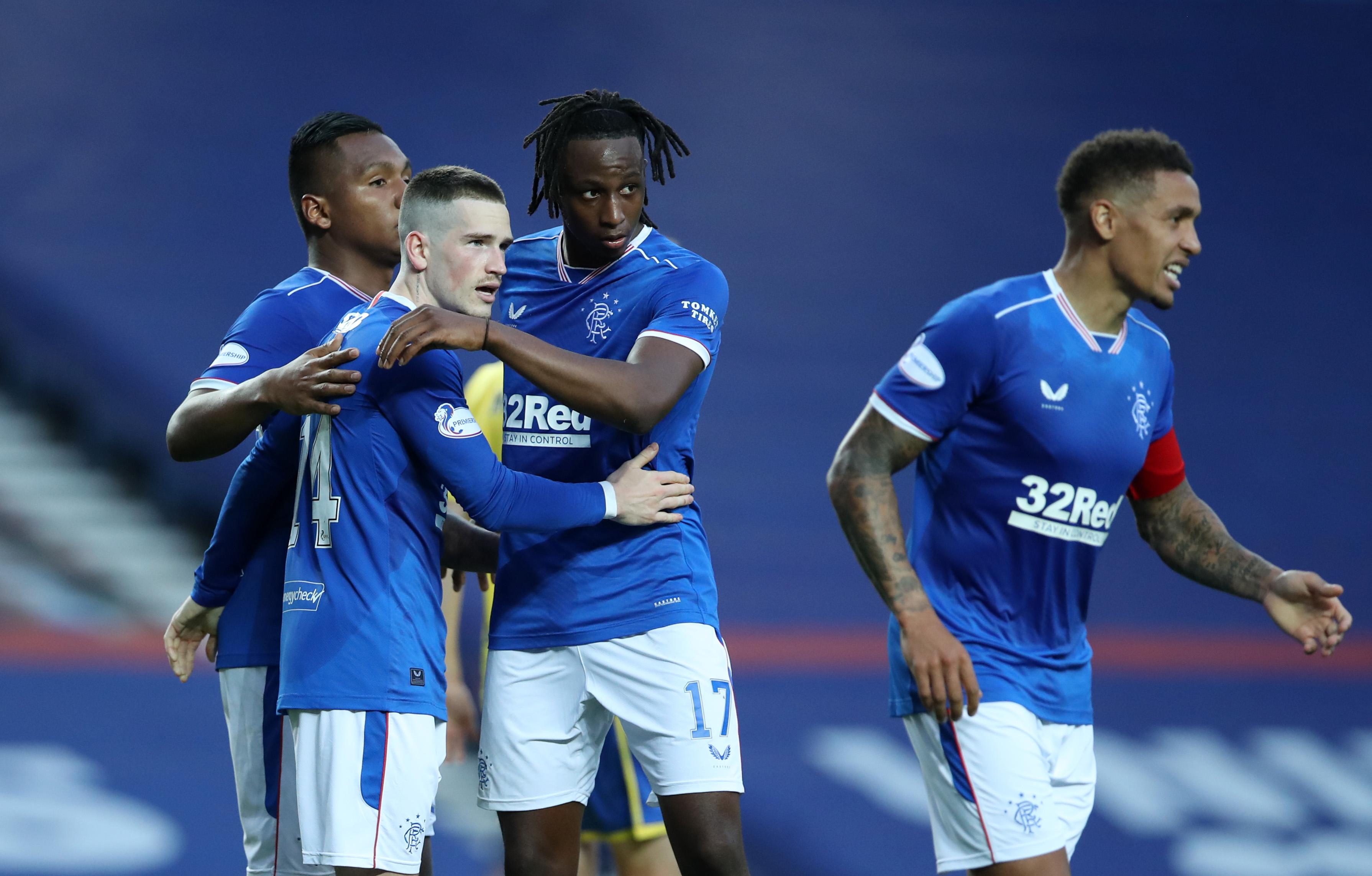 Rangers Vs Aberdeen Tactical Preview - Rangers celebrate
