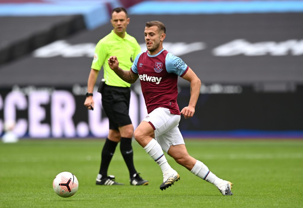 Afobe believes Everton could move in for Wilshere this summer (Wilshere is in action in the picture)