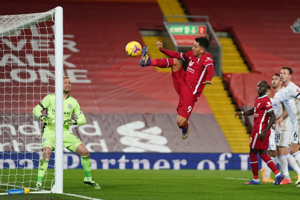 Liverpool player ratings vs Leicester City (Liverpool's Roberto Firmino is in action in the picture)