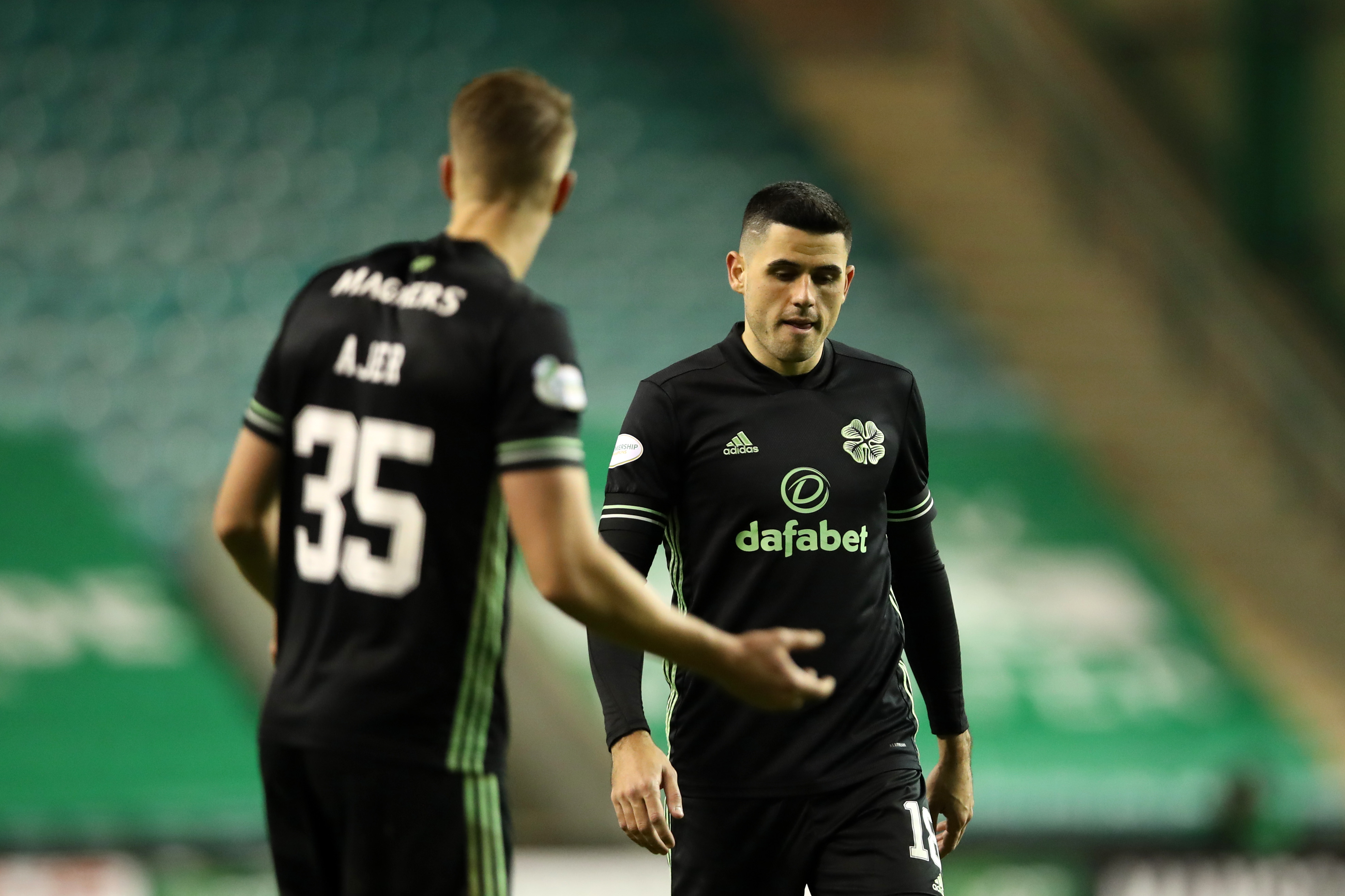Predicted 4-2-3-1 Celtic Lineup Vs St. Johnstone - Celtic players react