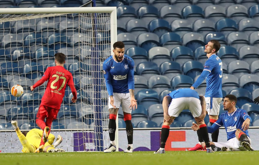 Predicted 4-3-3 Rangers Lineup Vs Ross County - Rangers players react