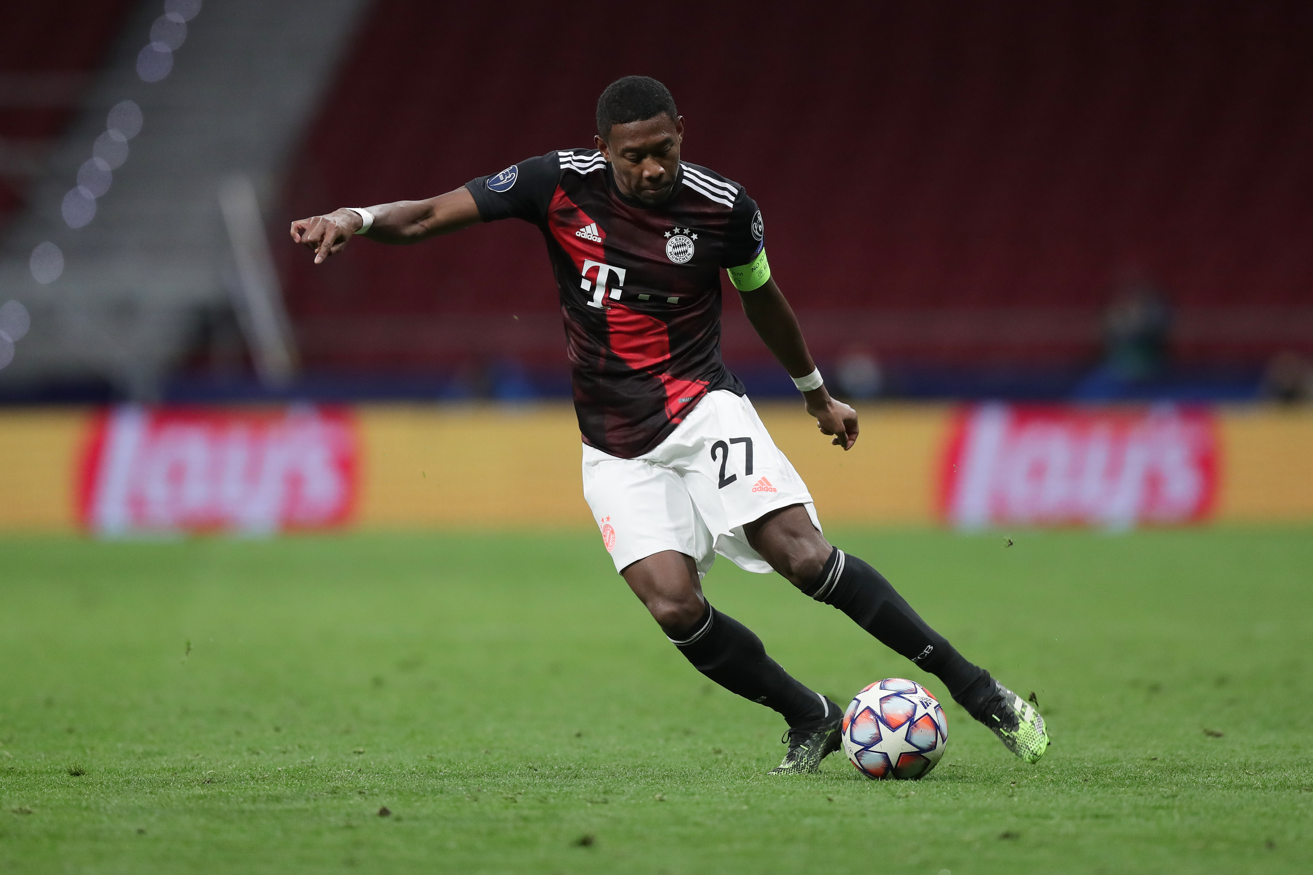Liverpool enter the race to land David Alaba who is in action in the picture