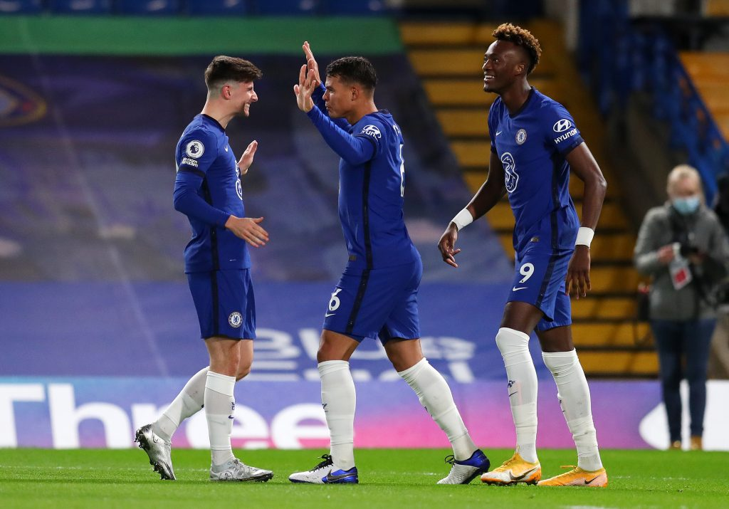 Chelsea Players Rated In Hard-Fought Victory Vs Fulham (Chelsea players are celebrating in the picture)