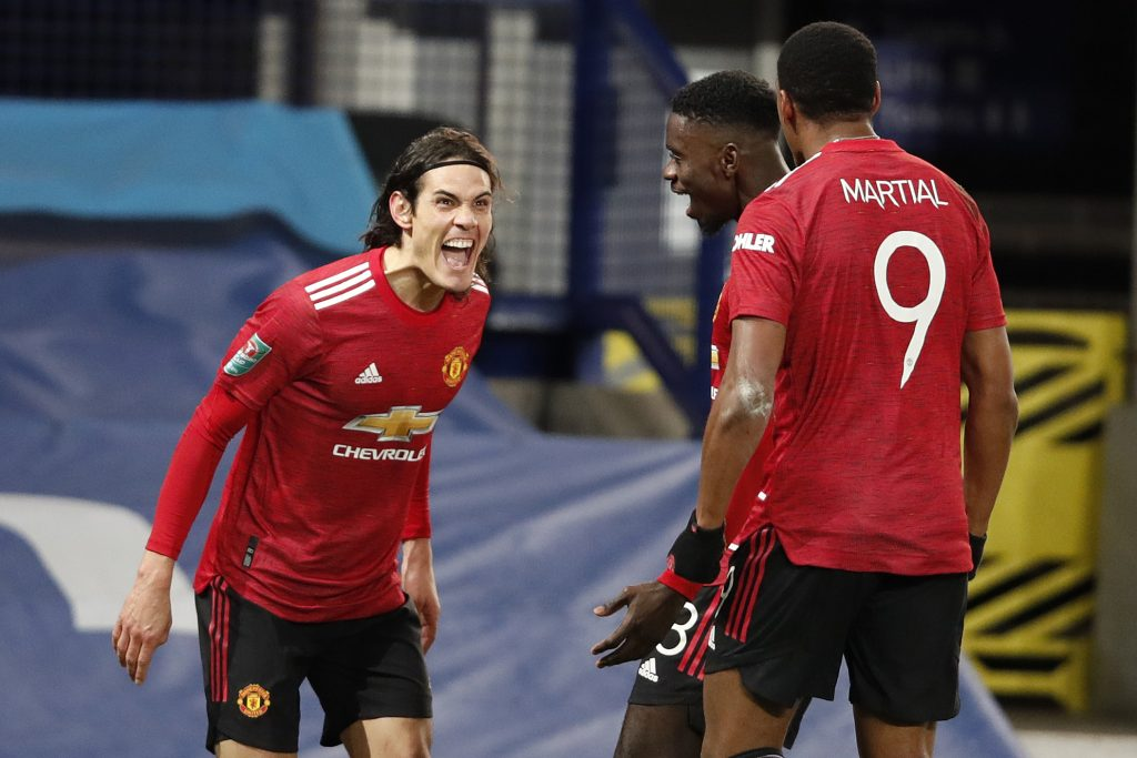 Manchester United player ratings vs Burnley (Man United players are seen in the photo)