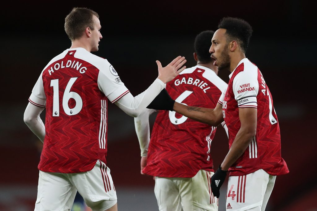 Arsenal player ratings vs West Bromwich Albion (Arsenal players are seen in the photo)