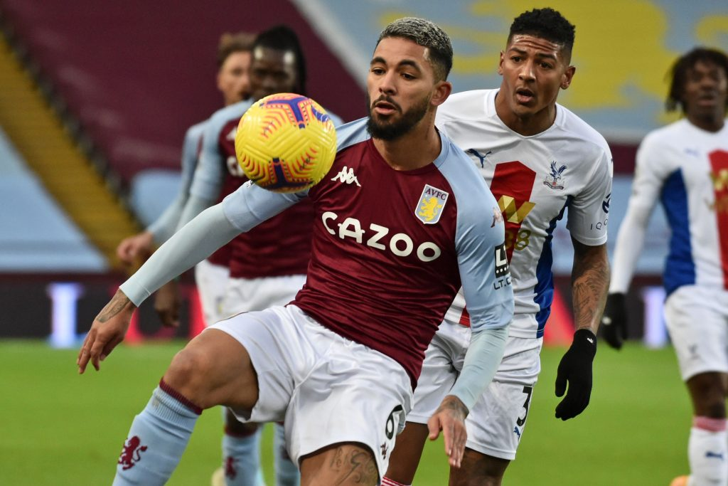 4-3-3 Aston Villa Predicted Lineup Vs Newcastle United (Aston Villa's Douglas Luiz is seen in the photo)