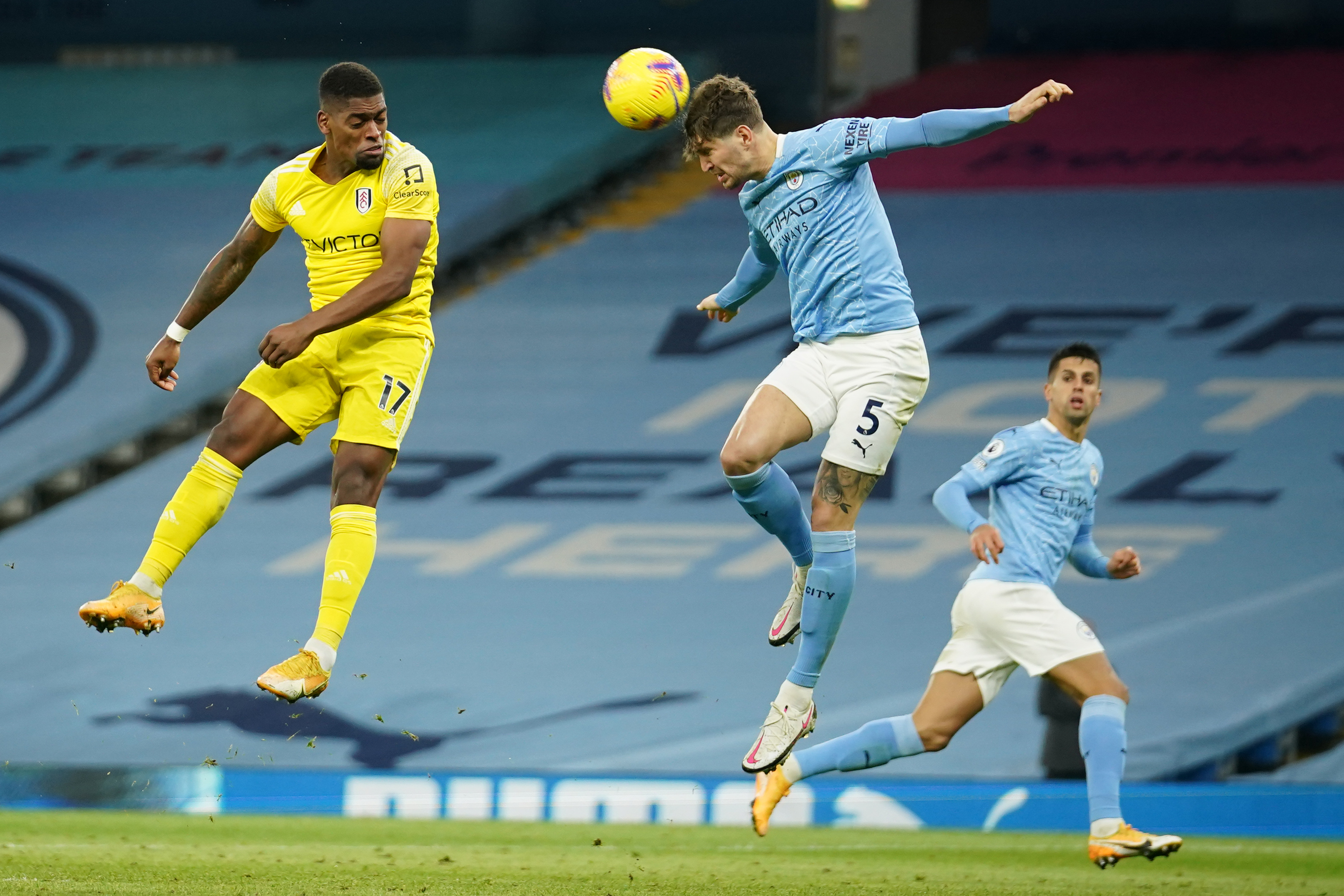 Man City's Stones in advanced talks over a new contract (Man City's Stones is seen in the picture)