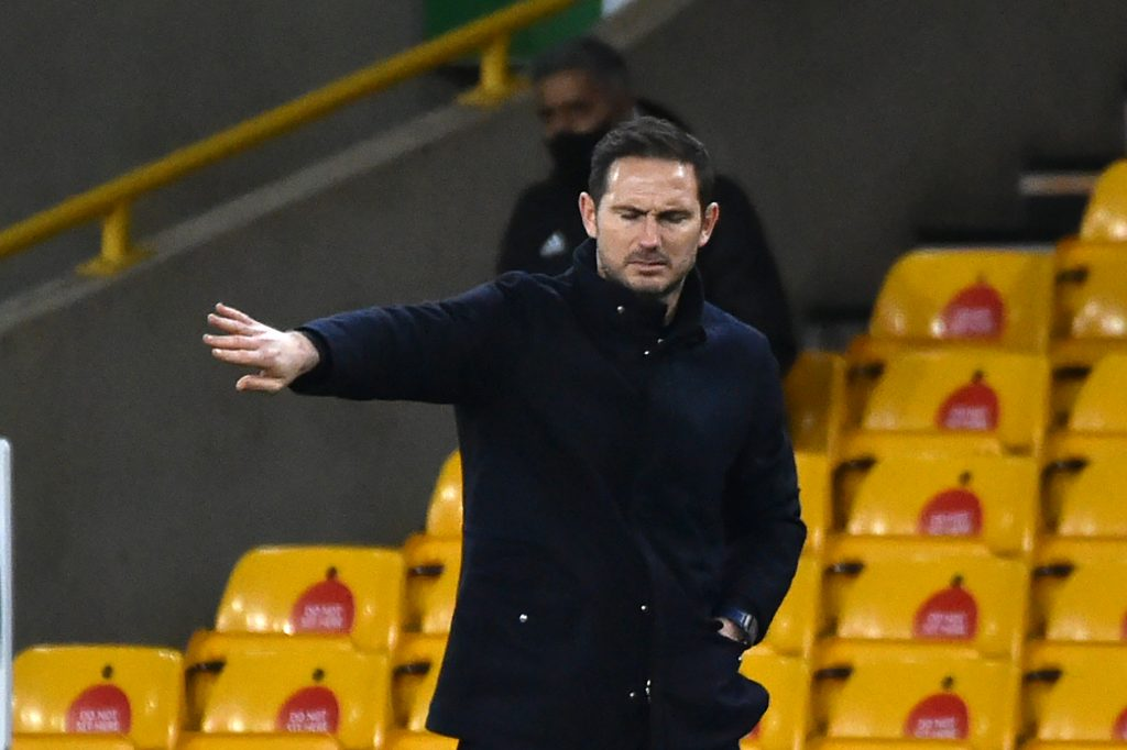 Chelsea are keeping tabs on Aurélien Tchouaméni (Chelsea boss Frank Lampard is seen in the photo)