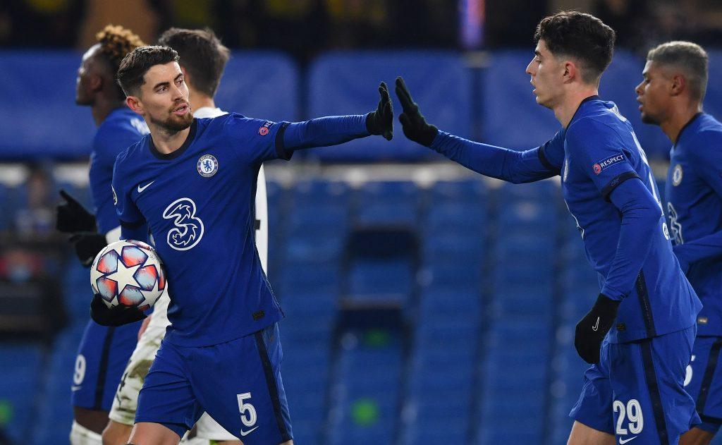 Chelsea Player Ratings Vs Krasnodar - Jorginho celebrates