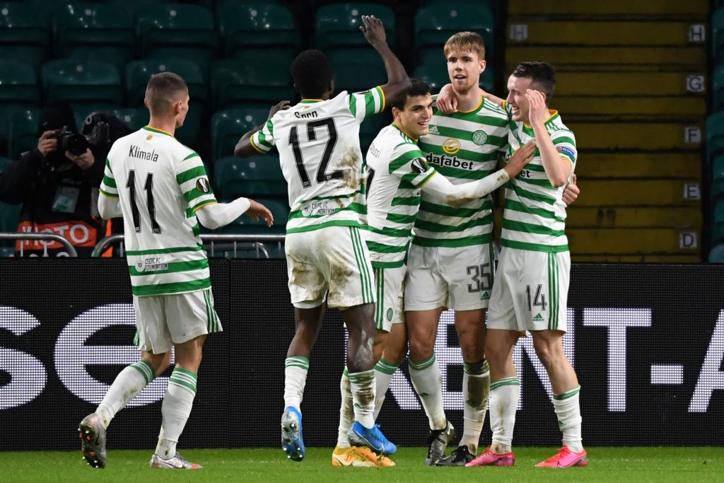 Celtic Player Ratings Vs Lille - Turnbull celebrates