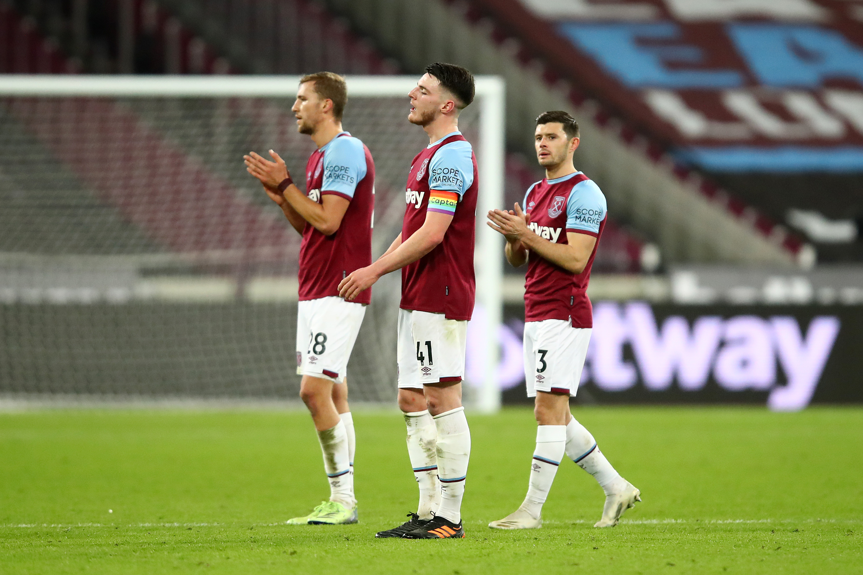 West Ham United player ratings vs Doncaster (West Ham players are seen in the photo)