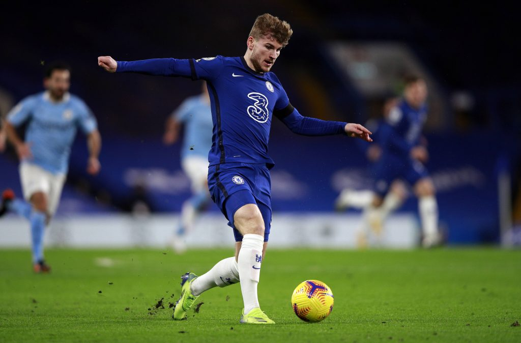 Chelsea Player Ratings Vs Manchester City - Werner in action