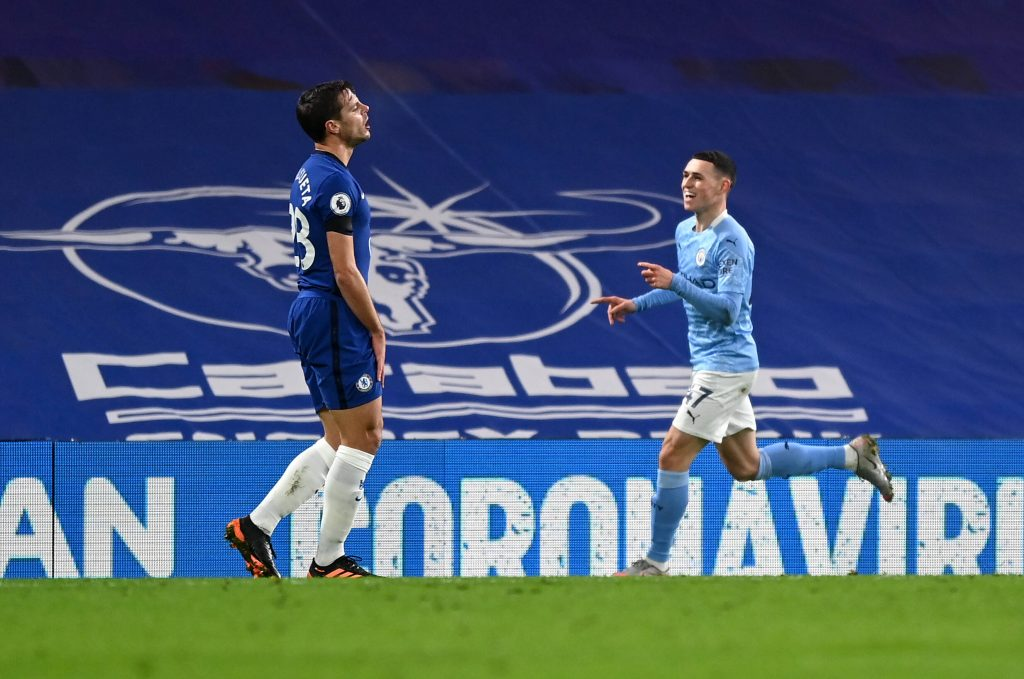 Chelsea Player Ratings Vs Manchester City - Foden celebrates