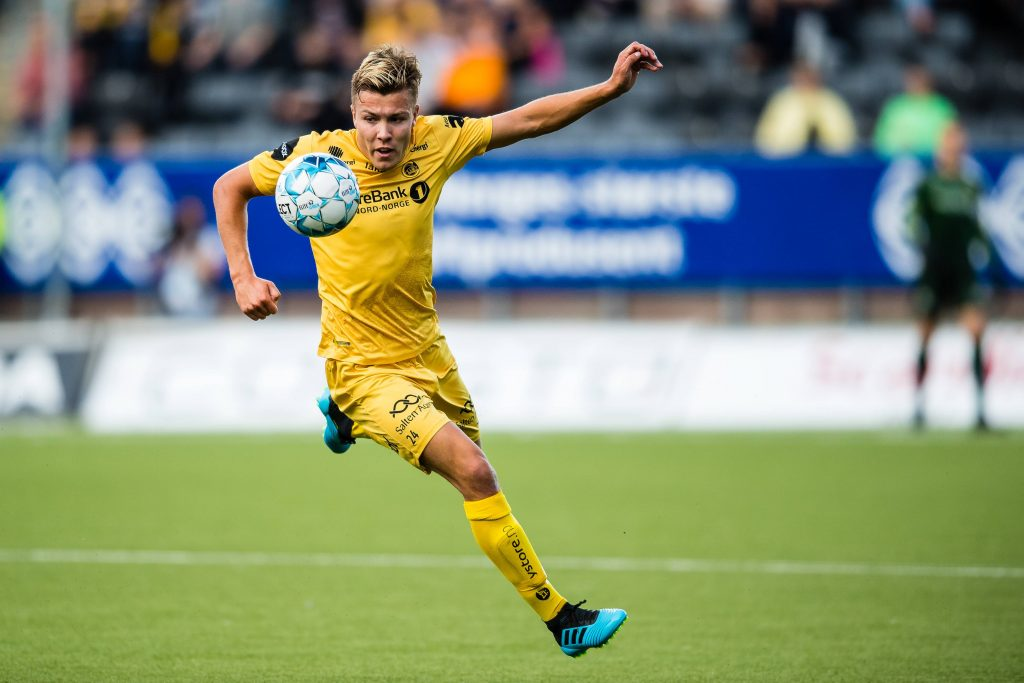 Leeds United are among clubs interested in Fredrik Andre Bjorkan - He is a rising star.