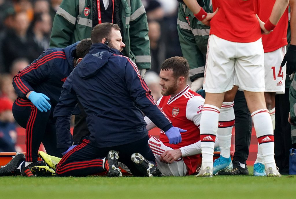 Arsenal are open to offloading Calum Chambers - He has been unfortunate with injuries.