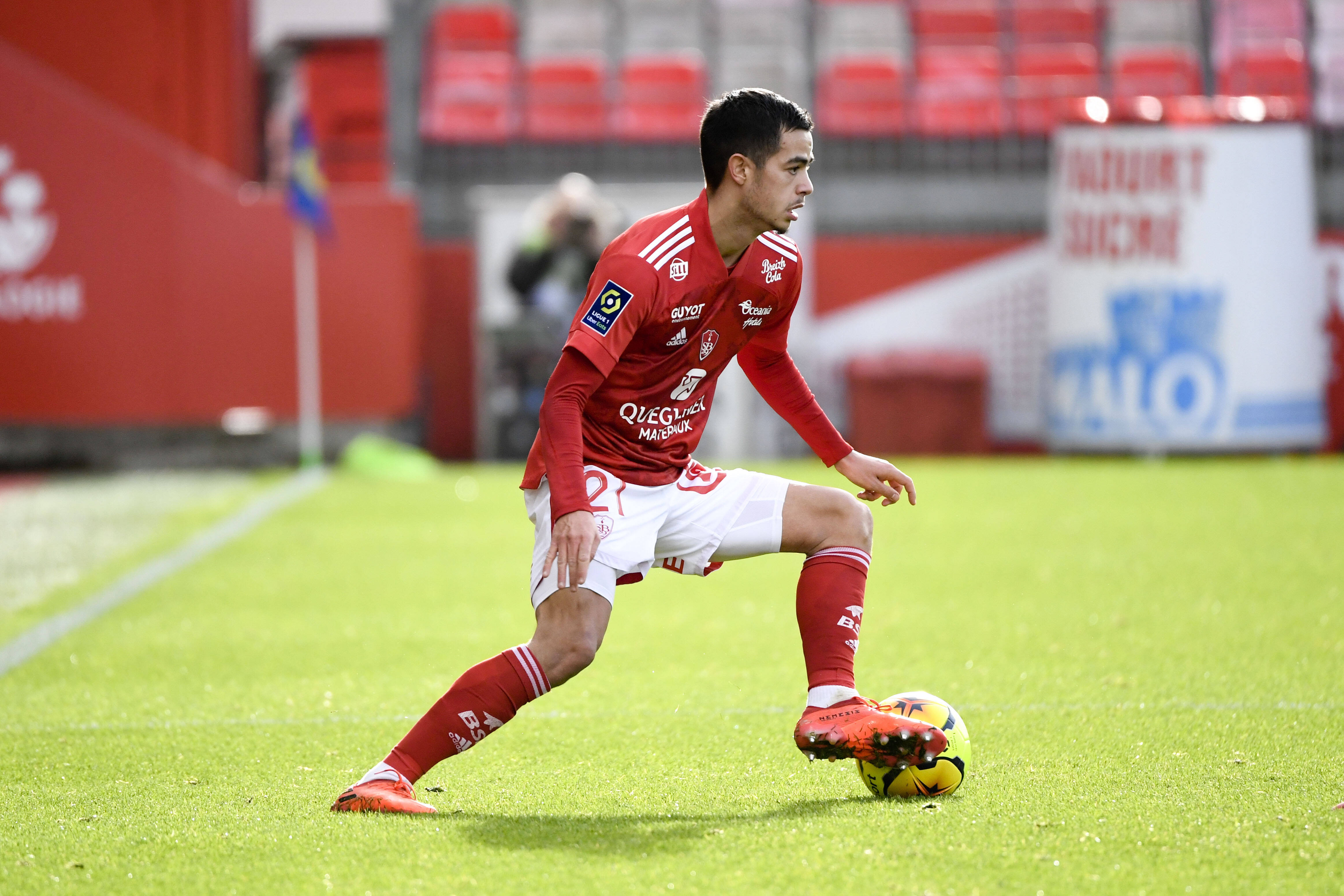 Romain Faivre Is On Manchester United's Radar (Romain Faivre can be seen in the picture)