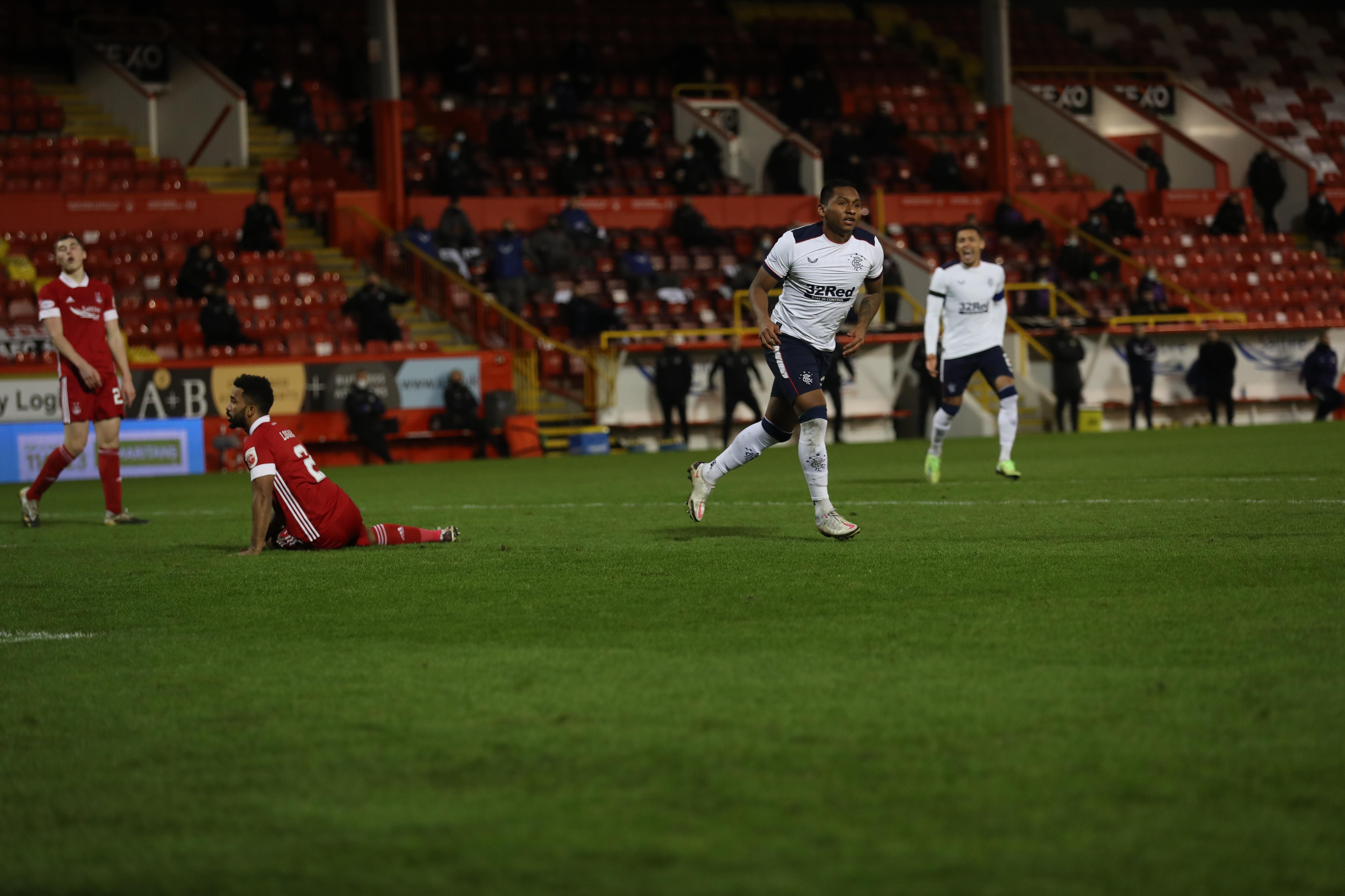 Rangers secure a win against Aberdeen thanks to Alfredo Morelos' brace