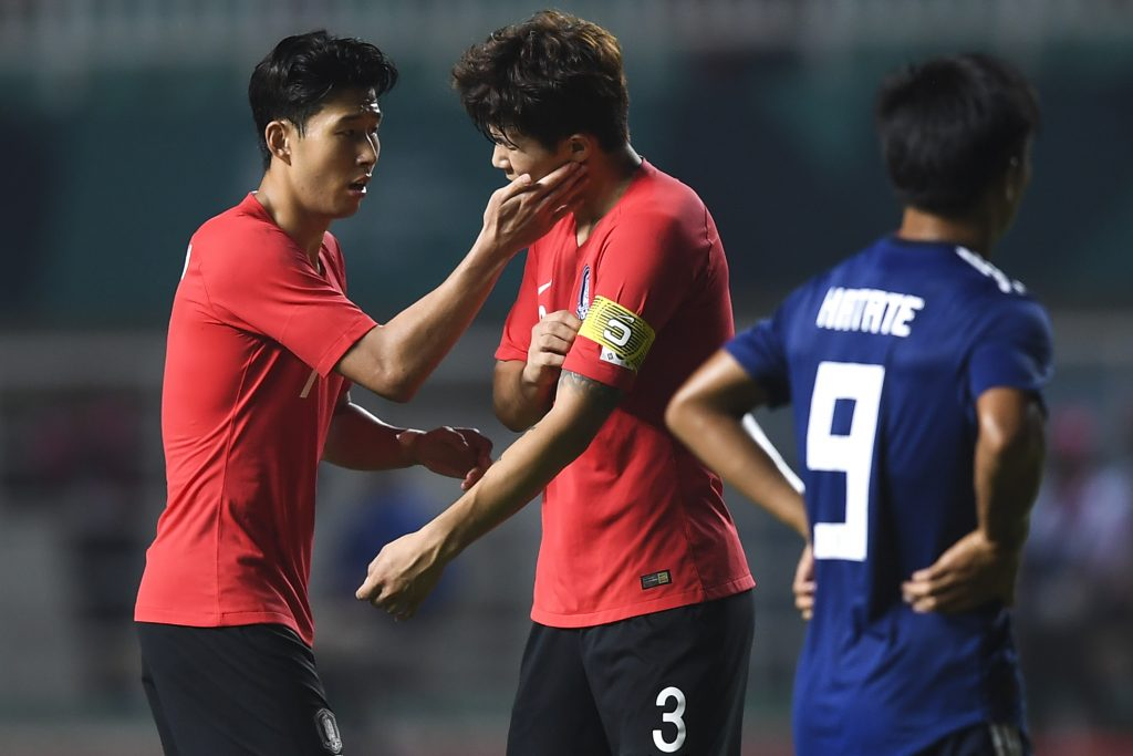 Tottenham Hotspur are preparing a move for Kim Min-jae - The duo play together for the national side.