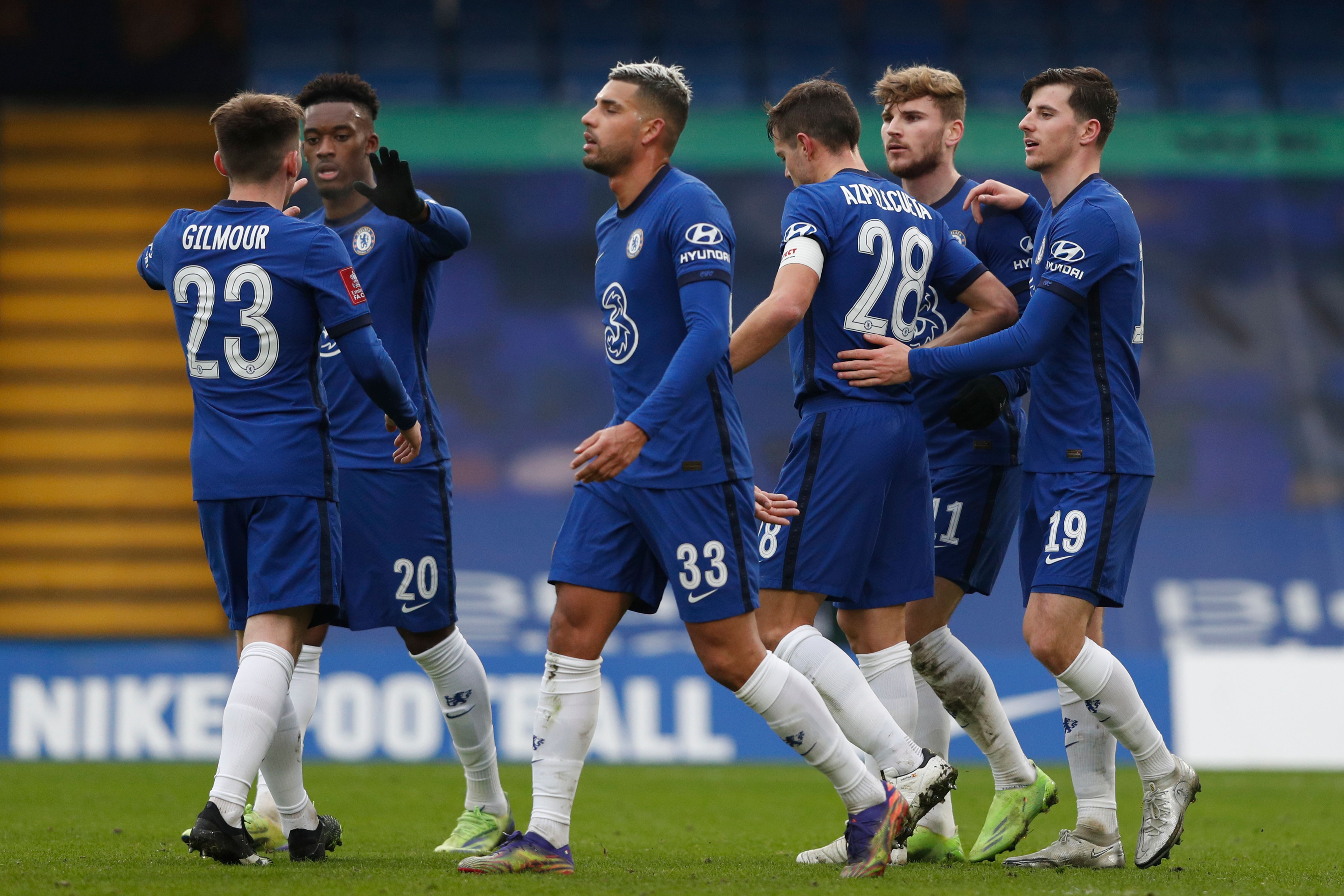 Tottenham Hotspur vs Chelsea tactical preview (Chelsea players are seen in the picture)