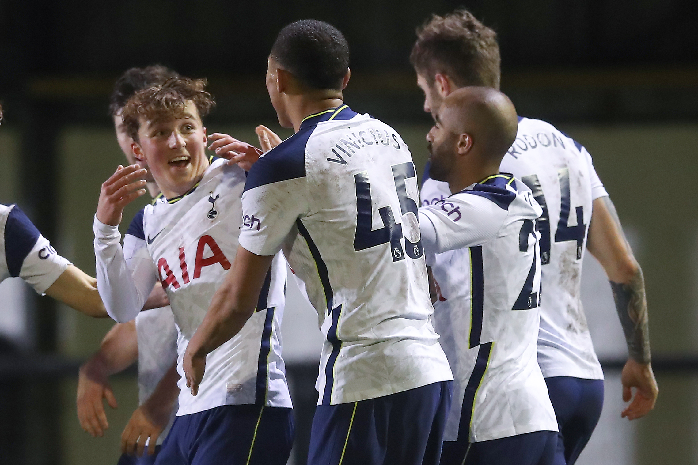 Tottenham Hotspur Player Ratings Vs Marine  - A great team display.