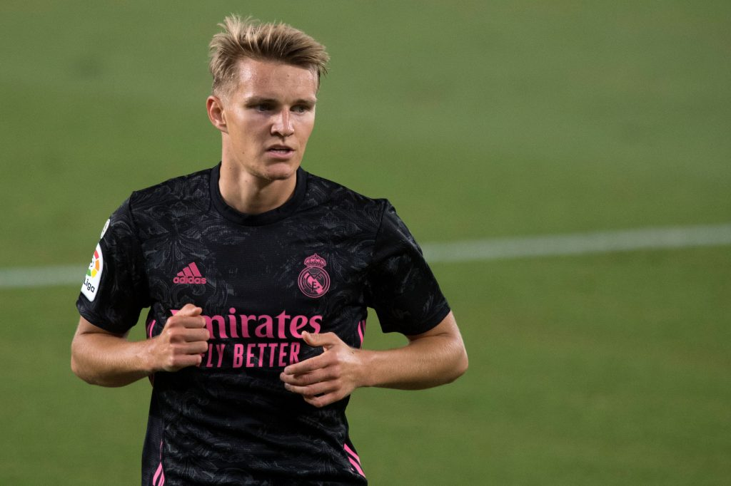 Arsenal have made an approach to sign Martin Odegaard - He has had a difficult spell under Zidane.