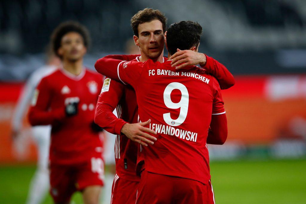 Bayern Munich Player Ratings Vs Gladbach - Goretzka impressed with his strike.