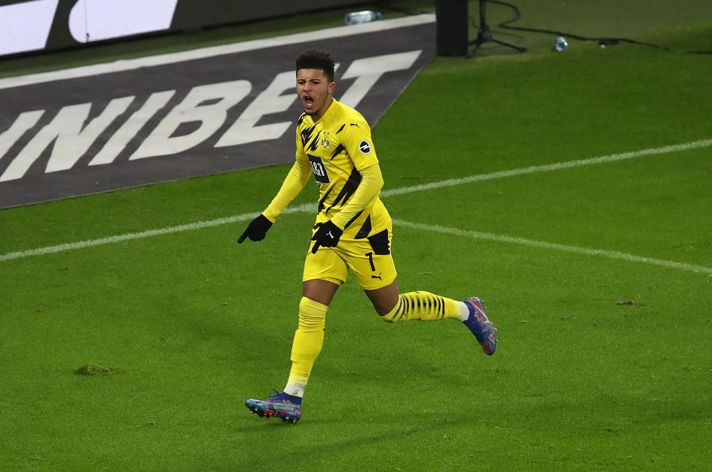 Three Players Manchester United Should Target In January (Jadon Sancho can be seen in the picture)
