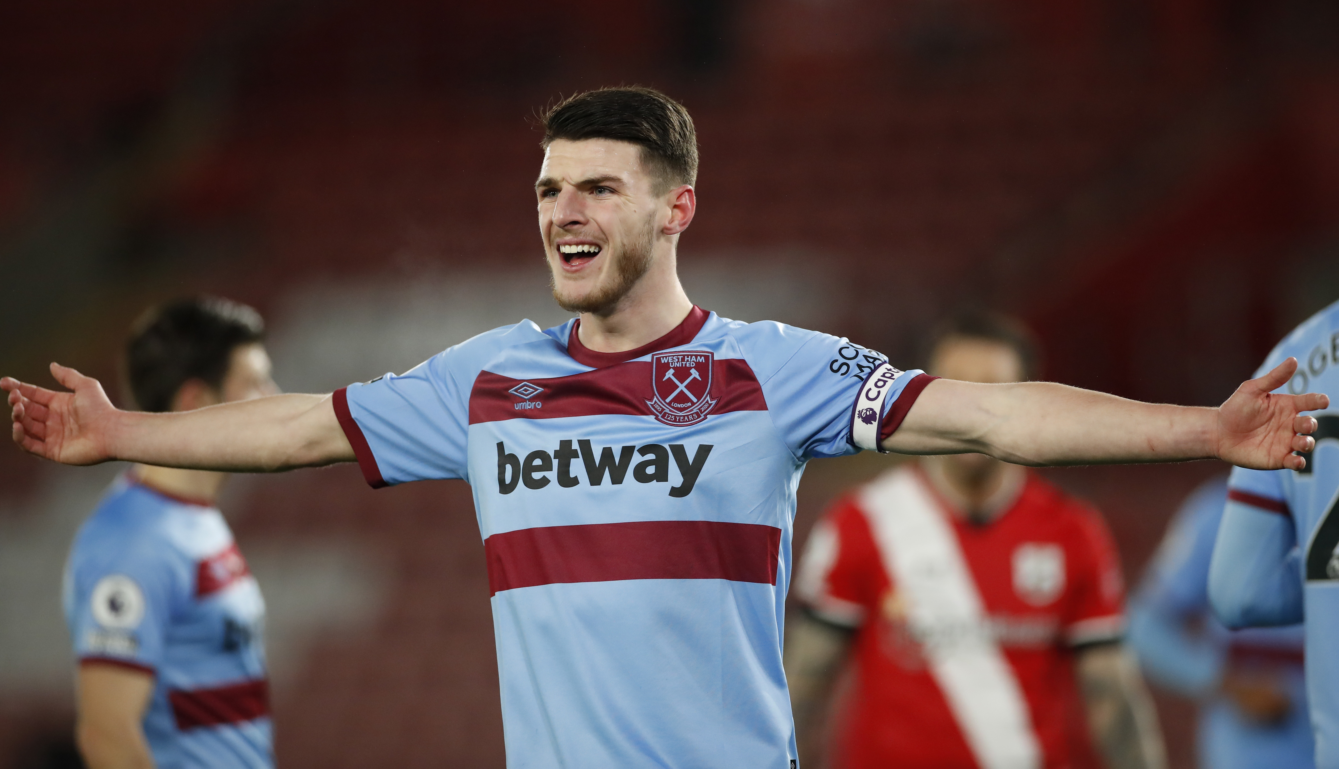 Manchester United Set To Hijack Chelsea's Move For Declan Rice (Declan Rice can be seen in the picture)