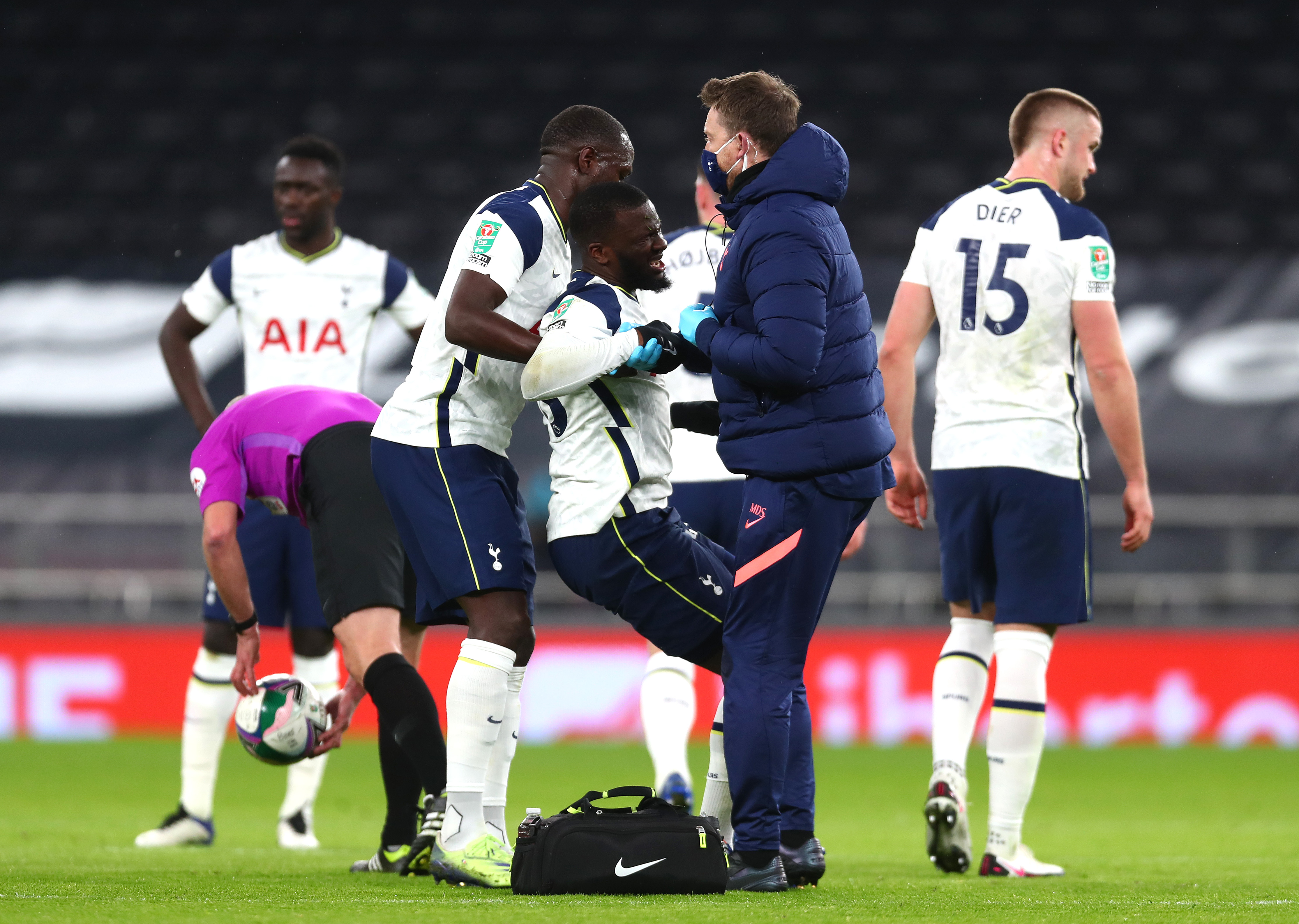 4-2-3-1 Tottenham Hotspur Predicted Lineup Vs Sheffield United (Tottenham Hotspur players are seen in the photo)