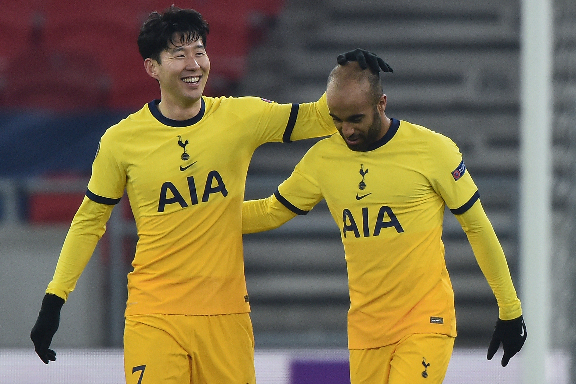Tottenham Hotspur player ratings vs Wolfsberger (Tottenham players are celebrating in the picture)