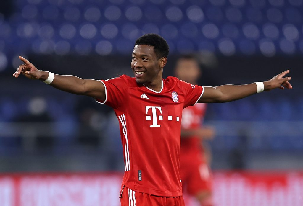 Liverpool facing a losing battle to land David Alaba who is seen in the photo