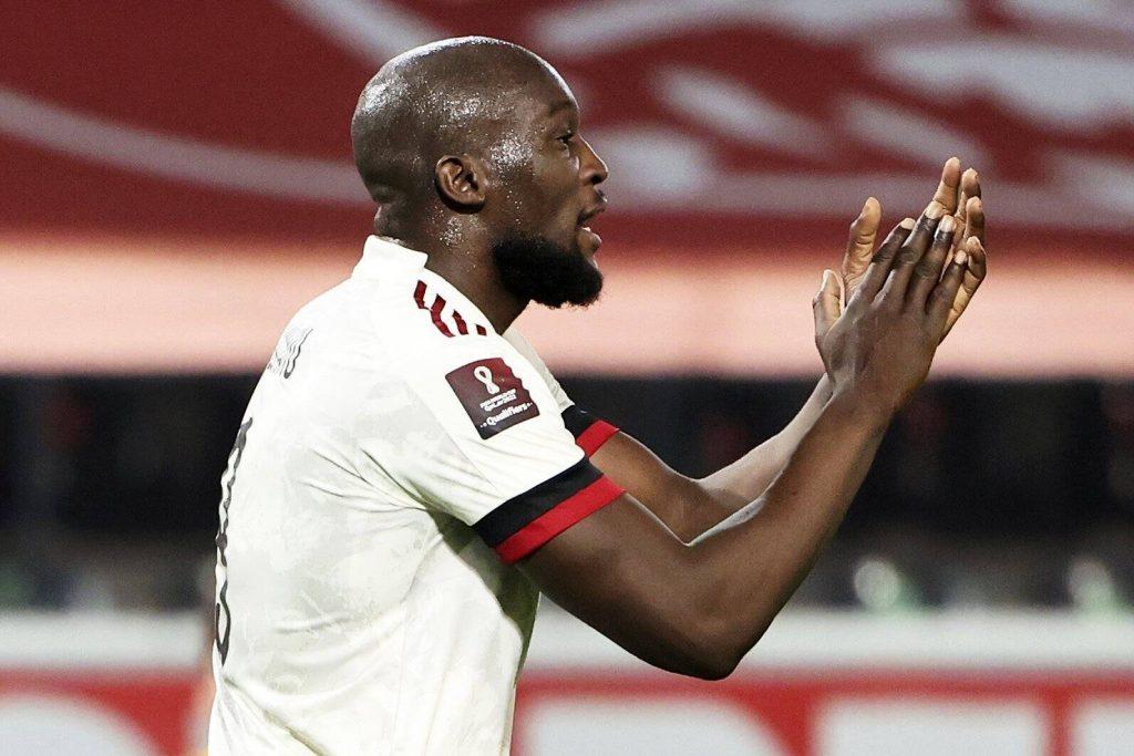 Chelsea identify Lukaku as a top target (Lukaku is seen in the picture)