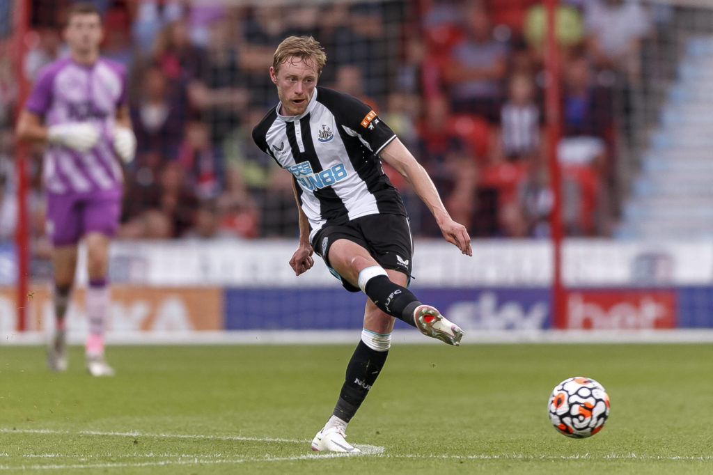 Newcastle hoping to reopen contract talks with Longstaff who is seen in the picture