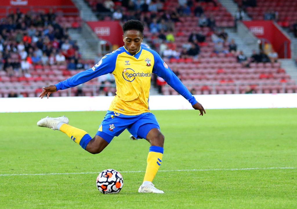 Everton made an enquiry for Walker-Peters last month (Walker-Peters is seen in the picture)