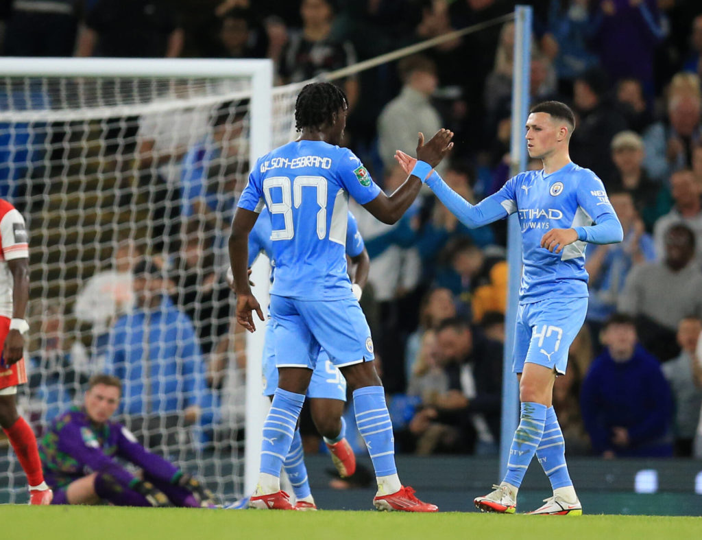 Chelsea vs Manchester City Tactical Preview (Man City players are celebrating in the photo)